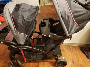 Baby Trend Sit to Stand Double Stroller for Sale in Grand Prairie, TX