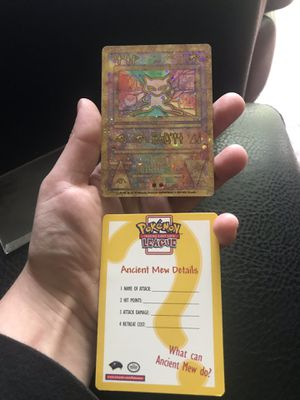 Ancient Mew Promo for Sale in Tacoma, WA