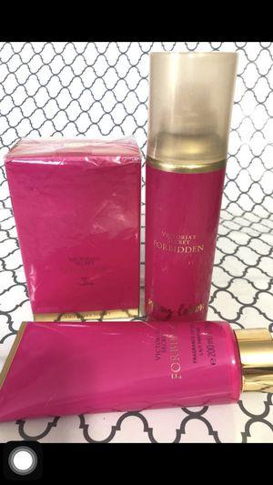 Victoria's Secret 'Forbidden' 3 piece set NEW for Sale in Algonquin, IL