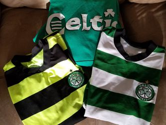 Celtic Soccer Jerseys and Sweathshirt. Size 10/12....$10. For all for Sale in Victorville,  CA