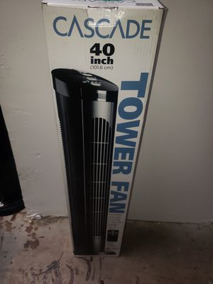 Tower fan w remote for Sale in Phoenix, AZ