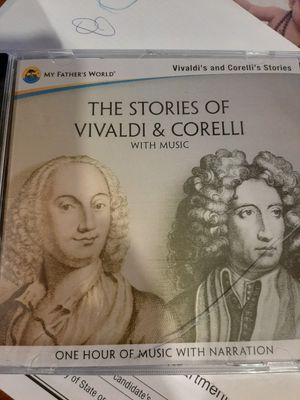 The stories of vivaldi & Corelli with music for Sale in Las Vegas, NV
