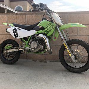05 Kawasaki KX 65 runs But needs work for Sale in Huntington Beach, CA