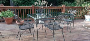 Outdoor Dining Table And Chairs for Sale in Washington, DC