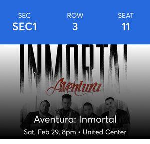 Aventura Saturday Tickets. FLOOR for Sale in Franklin Park, IL