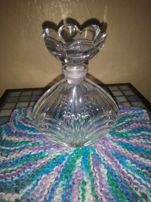 Antique crystal glass perfume bottle for Sale in Pomona, CA