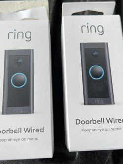 2 Ring Doorbell Wired for Sale in San Marcos,  CA