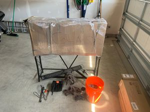 55 gallon aquarium with stand and accessories for Sale in Springfield, VA