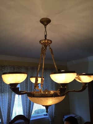 Genuine Alabaster Chandelier for Sale in Staten Island, NY