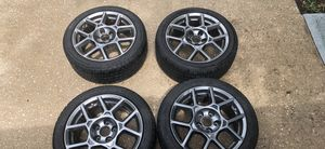 "07 08 Acura TL Type S wheels/Rims with tires 17"" x 8"" please read description. for Sale in Jacksonville, FL"