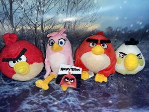 Angry Birds Plush set of 4 for Sale in Bellflower, CA