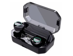Bluetooth Headphones, Wireless Earbuds, OULDPA Bluetooth 5.0 Headphones with LED Charging Case,Noise Canceling IPX7 Waterproof in-Ear Earphone for Sale in Rancho Cucamonga, CA