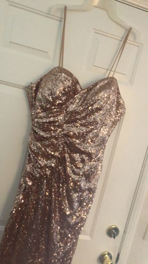 Rose Gold dress for Sale in Rancho Cucamonga, CA