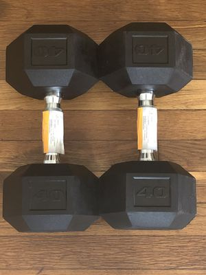 40 LB Dumbbell Pair (80lb total) for Sale in Boston, MA