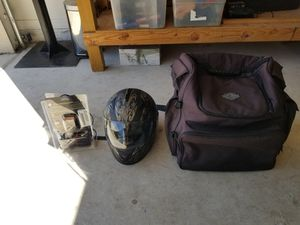 Harley Davidson bag in halmet pn battery charge for motorcycle for Sale in Palm Coast, FL
