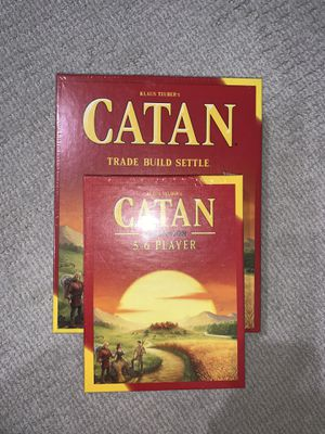 CATAN board game and extension for Sale in Renton, WA