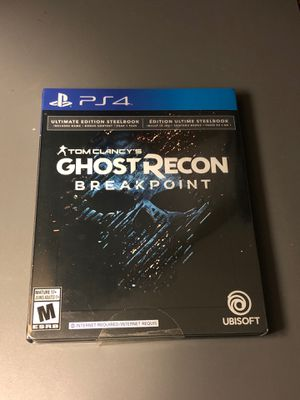 Ghost recon breakpoint ultimate edition ps4 NEW sealed for Sale in Union City, CA