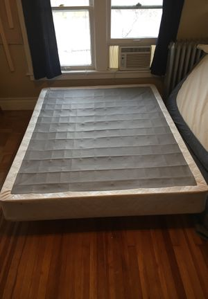 Queen size mattress box spring and frame for Sale in Denver, CO