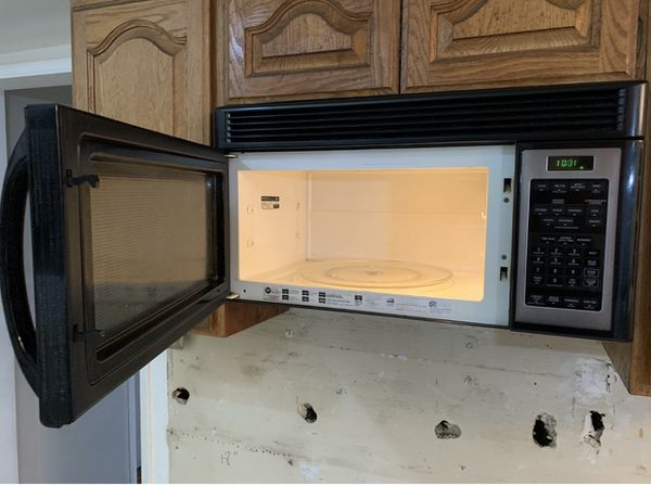 GE Stove and Microwave