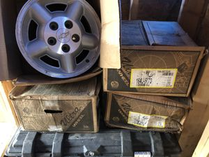 Chevy corvette wheels- have 4 for Sale in Hedgesville, WV