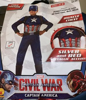 Captain America Costume for Sale in Gaithersburg, MD