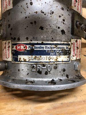 "HM 2""-4"" beveling machine for Sale in Port Lavaca, TX"
