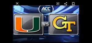 Hurricanes 4 tickets parking for Sale in Miami, FL