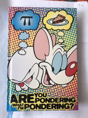 Pinky and the Brain Ponderings, Musings and Observations Diary type Book for Sale in Chicago Heights, IL