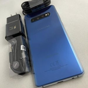 Samsung Galaxy S10 Plus 128Gb, Blue Color, AT&T and Cricket Only, Excellent Condition. $440 Firm for Sale in Round Rock, TX