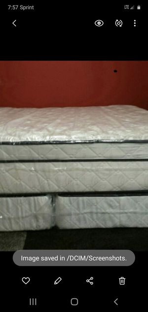 Cal king bed set can deliver new with frame for Sale in Brandon, FL