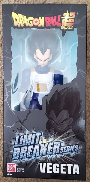 "RARE Bandai limit breaker series vegeta black hair action figure 12"" HARD TO FIND for Sale in Rancho Cucamonga, CA"