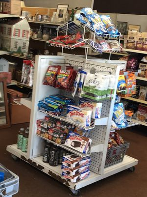 4 way merchandise display for Sale in Osseo, WI