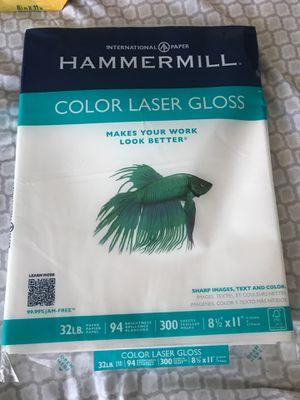 Color LASER Gloss Paper for Laser Printer for Sale in Hallandale Beach, FL