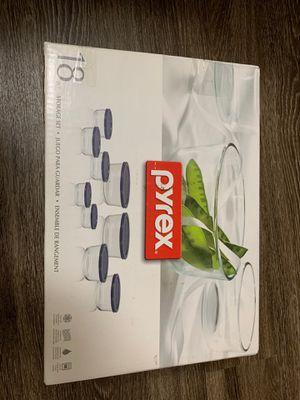 Pyrex 18 piece storage set for Sale in Austin, TX