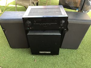 JBL Speakers and Subwoofer with AV Receiver for Sale in Cerritos, CA