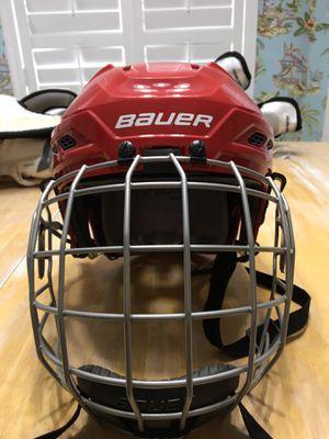 Lightly Used BAUER Ice Hockey Helmet for Sale in Gulf Breeze, FL