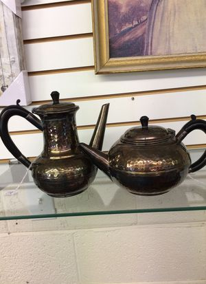 Hammered pewter teapot from Sheffield England for Sale in Angier, NC