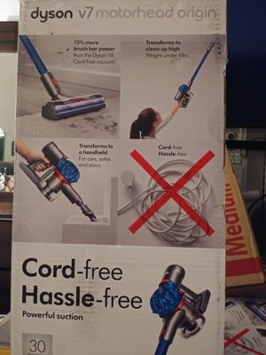 Dyson V7 cordless motor head vacuum cleaner for Sale in Downey, CA