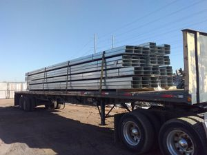 I got this new metal in it is 4 by 12 by 34 feet 10 inches good she metal Skaggs for Sale in Peoria, AZ