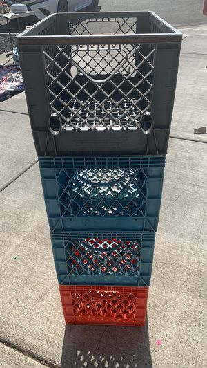 Milk Crates for Sale in Vancouver, WA
