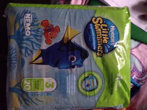 Huggies diapers little swimmers for Sale in Spring, TX