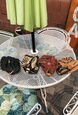 Baseball gloves for Sale in Chandler, AZ
