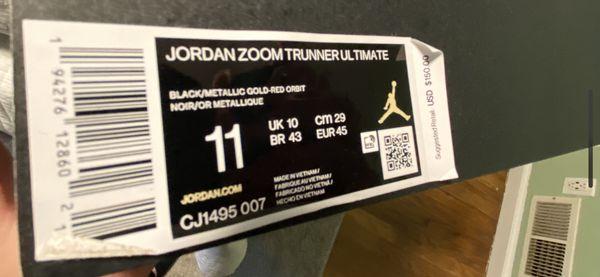 Jordan Zoom Trunner Ulitimate