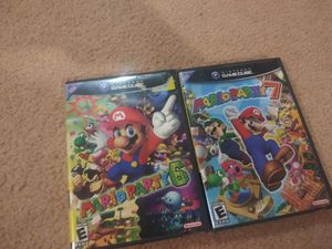 Mario party 6 and 7 for Sale in Northampton, PA