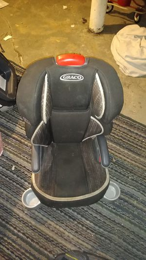 3 GRACO Turbo Booster High Back Booster Car Seat, Glacier. W/Cup Holder for Sale in Cleveland, OH