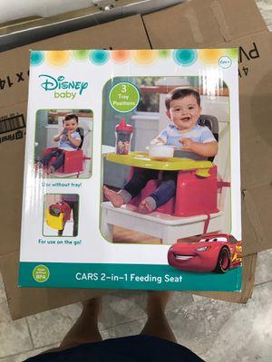 Disney cars feeding seat for Sale in Dallas, TX
