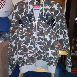 Large Supreme Zip Up Hoodie for Sale in Virginia Beach, VA