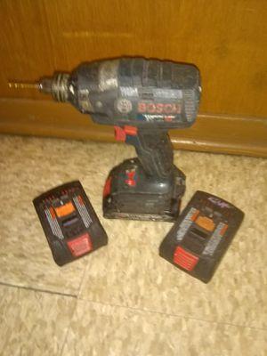 Bosch Drill w/ 3 batteries! for Sale in Saint Paul, MN