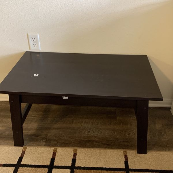 New Small Coffee Table Brown Color