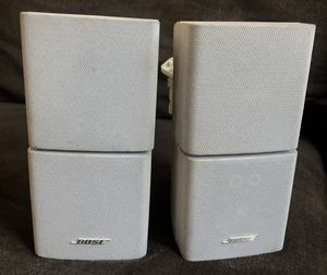 Bose lifestyle cubes (white) for Sale in Los Angeles, CA